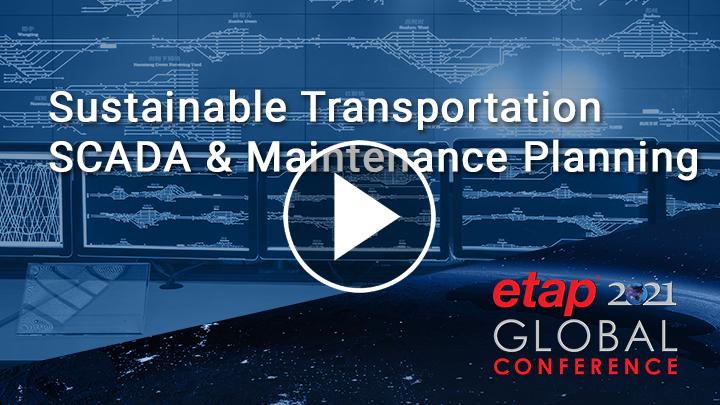 Sustainable Transportation - SCADA & Maintenance Planning
