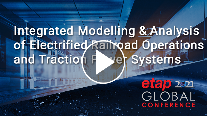 Integrated Modeling and Analysis of Electrified Railroad Operations and Traction Power Systems