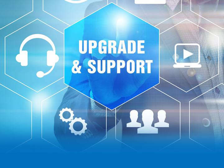 etap upgrade and user-support