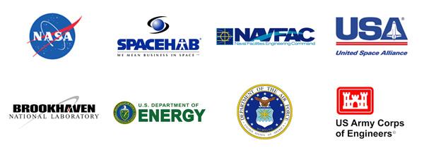 Government Defense User Logos