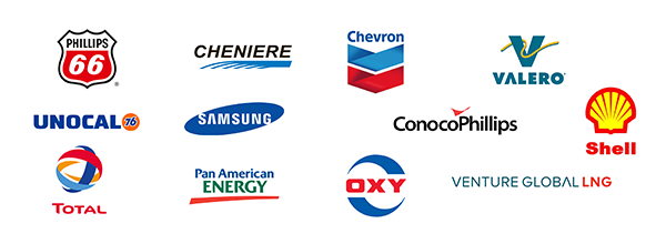 Oil & Gas  Users logos