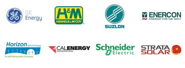 Renewable Energy User Logos