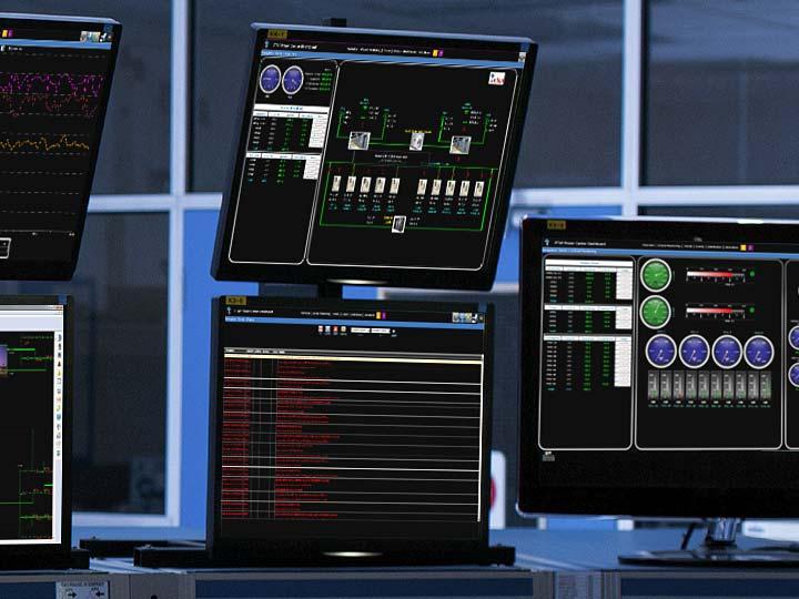 电力系统监控和仿真图标