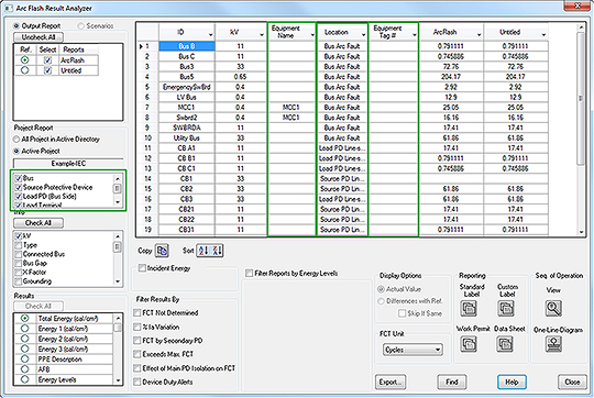ETAP-Arc-Flash-Result-Analyzer-when-using-IEC-and-User-Defined-Calculations