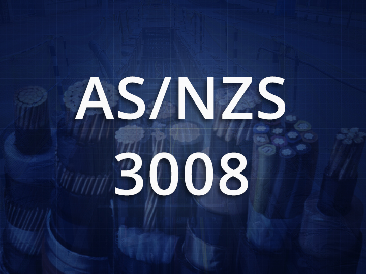 Australian New Zealand Standard 3008 icon