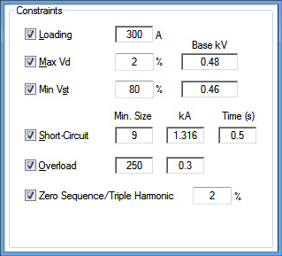 cable sizing software cable sizing calculation etap rh etap com  cable gauge calculator ac