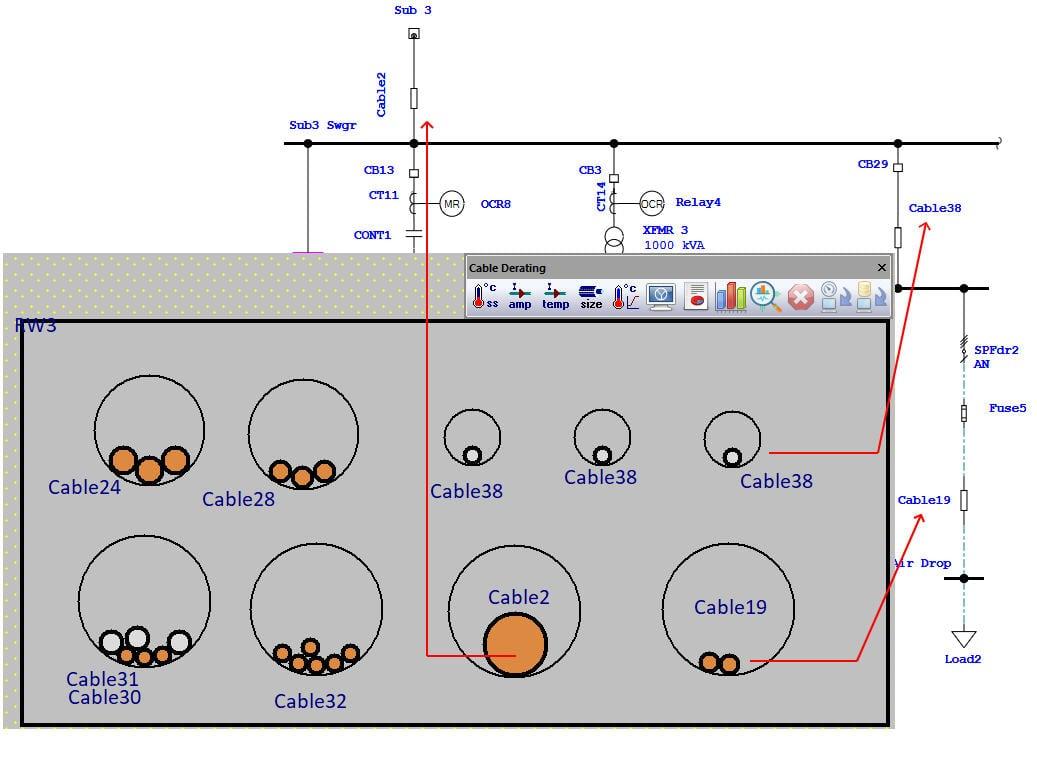 Cables inside underground raceways - IEC 60287, Neher-McGrath