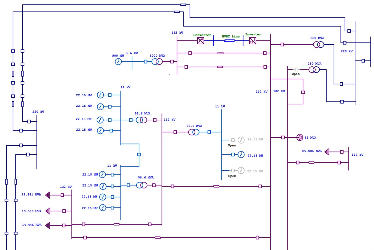 Electrical Single Line Diagram One Etap Make A Block In Word