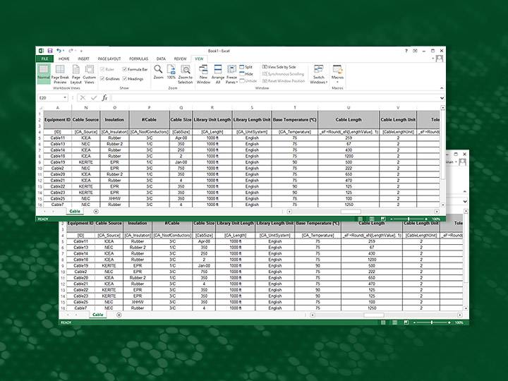 Excel and Access Interface