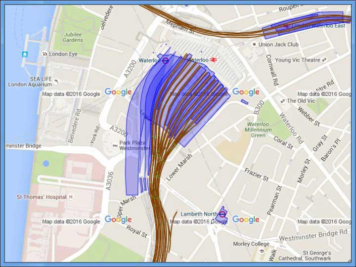 Geospatial Track Modeling