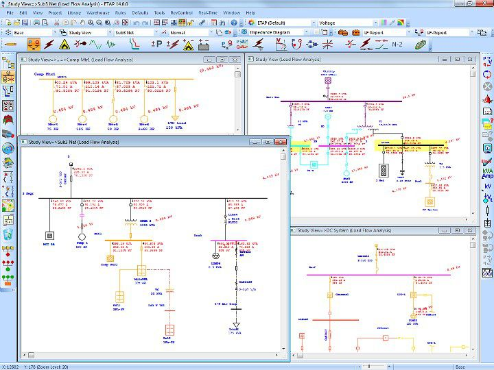 Load Flow Software Load Flow Analysis Power Flow