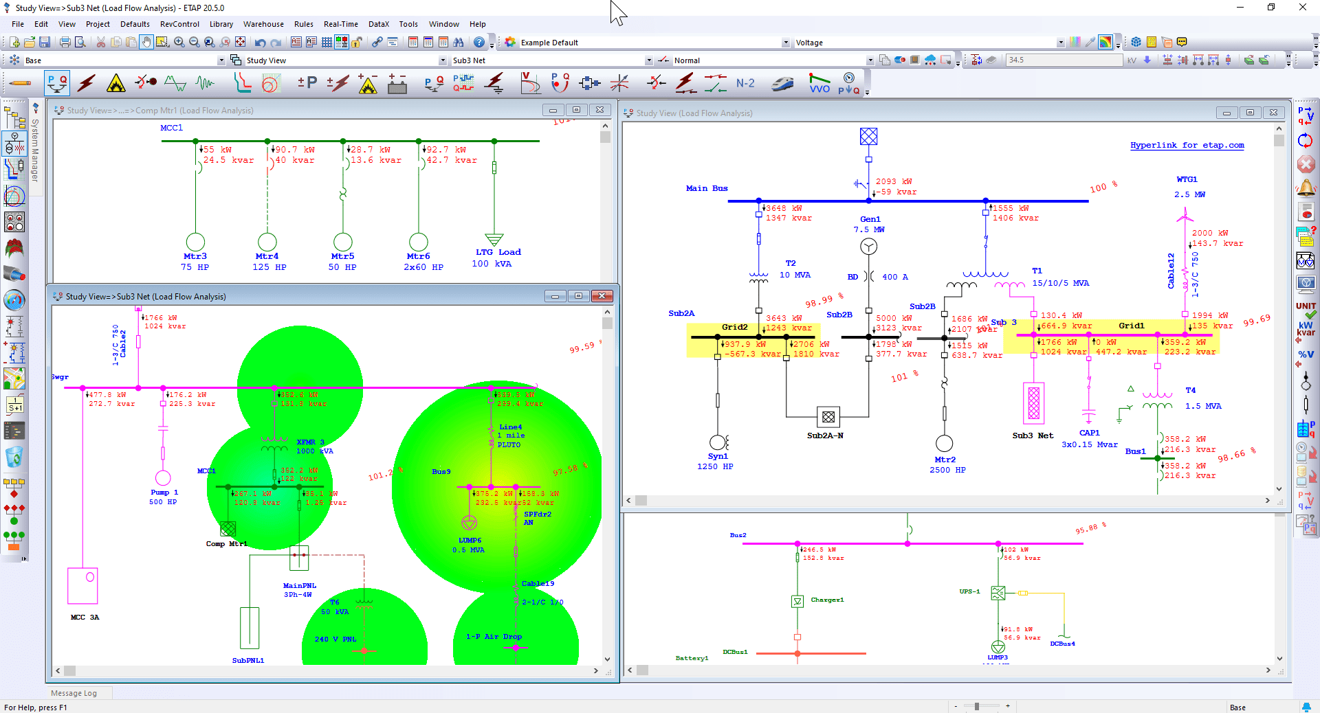 Load Flow Analysis Software