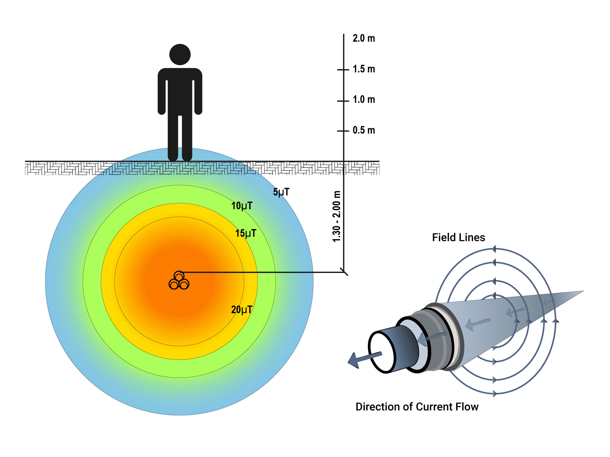 Magnetic field exposure analysis features