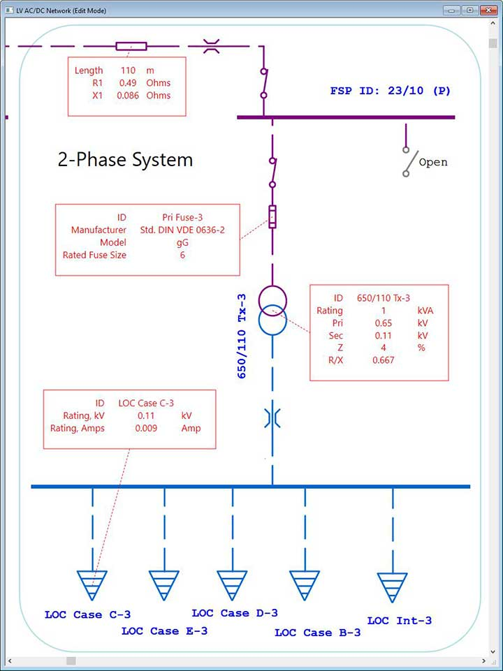 Datablock for Marine Electrical Diagram