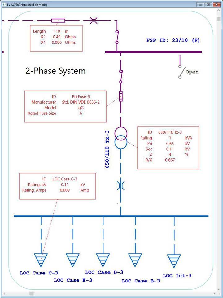 Low Voltage System Software - Datablocks