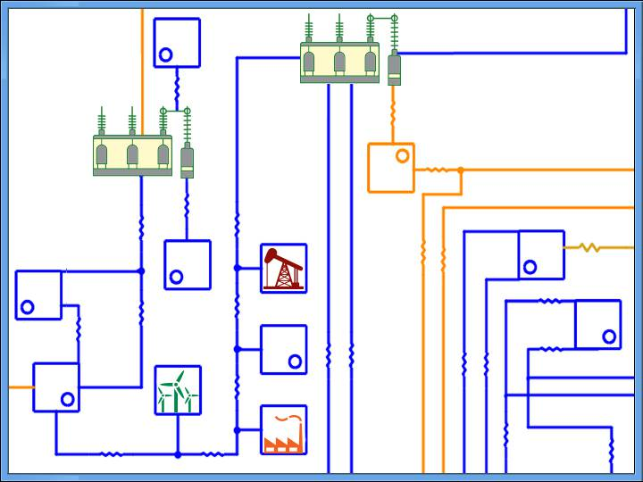 Substation & Equivalent Circuit Diagram