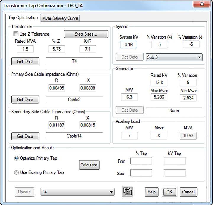 Optimize unit transformer turns ratio