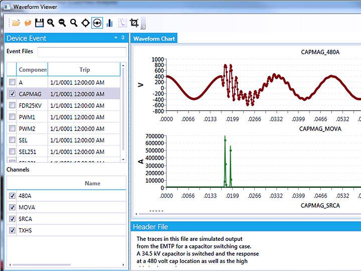 Waveform Capture and Visualization