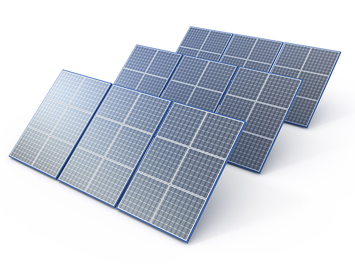 Photovoltaic array  panels