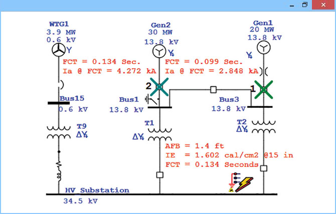 Arcing Fault Hazard Evaluation for Medium and High Voltage Systems