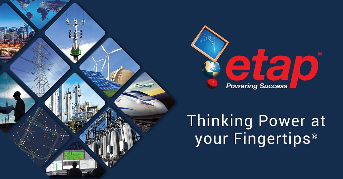 Etap Electrical Power System Analysis Software Power Management System