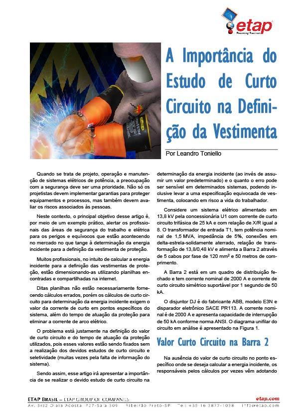 Arc Flash Whitepaper Brazil