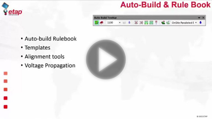 Auto-Build – Rule-Based Creation of One-Line Diagram
