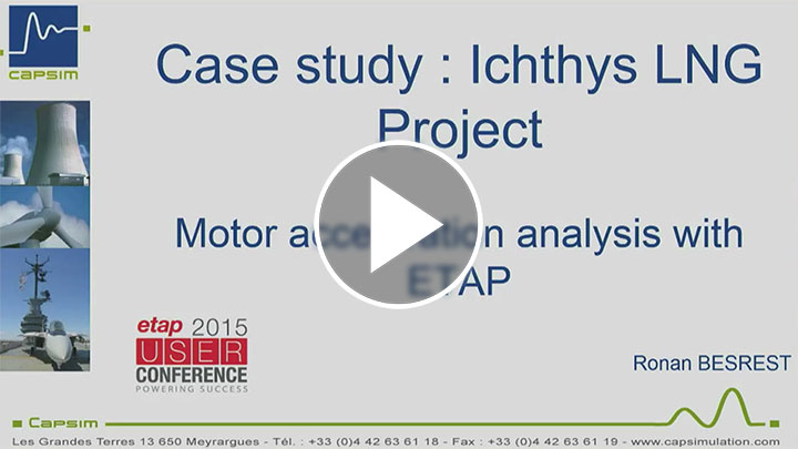Motor Acceleration analysis for floating platform