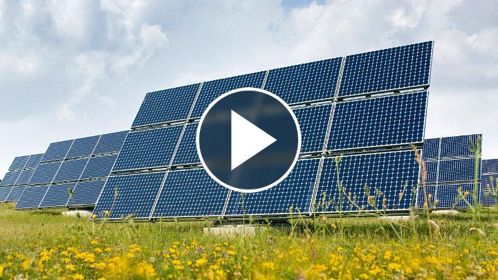 Solar Panels PV Array