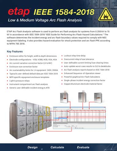 IEEE 1584-2018 Arc Flash