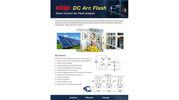 DC Arc Flash