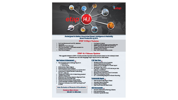 ETAP 14.1 New Features Guide