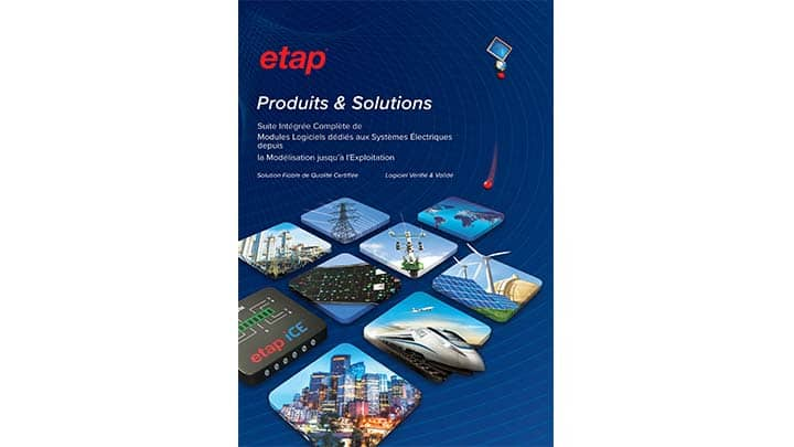 ETAP Products and Solutions French