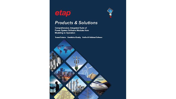 ETAP Products & Solutions Overview
