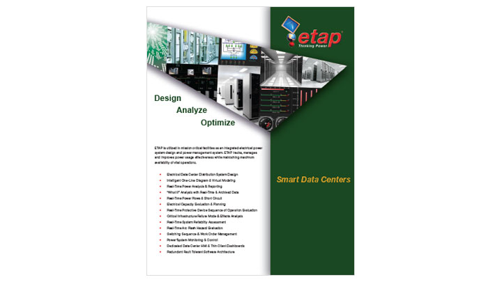 ETAP Smart Data Center