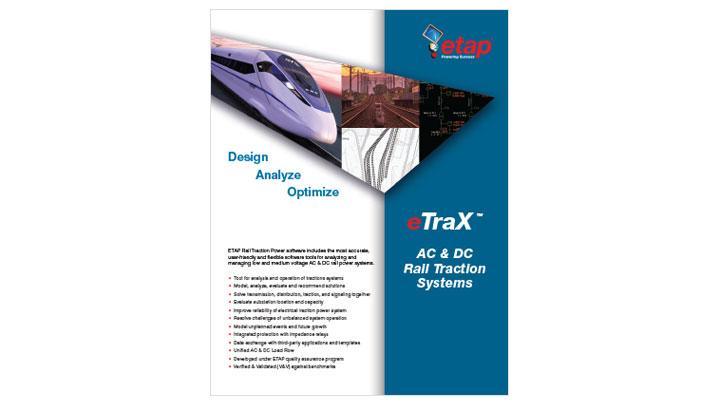 eTraX ™ - Solución de potencia de tracción ferroviaria