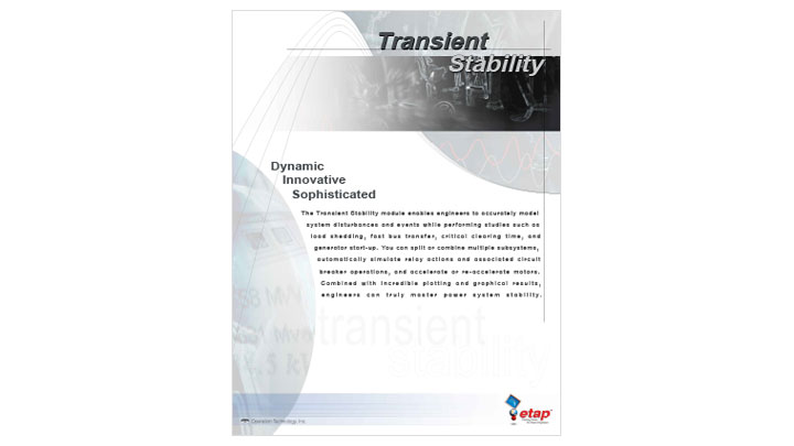 Transient Stability