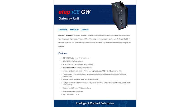 ETAP iCE Gateway