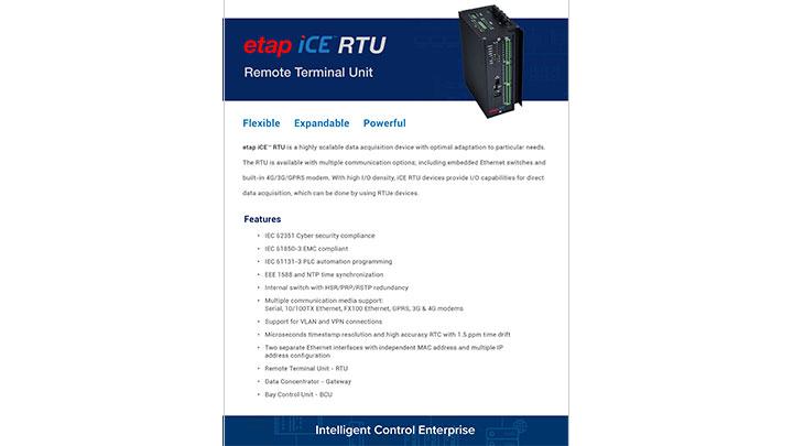 ETAP iCE RTU
