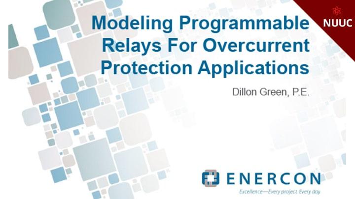 Etap Conference Programmable Relays Dillon