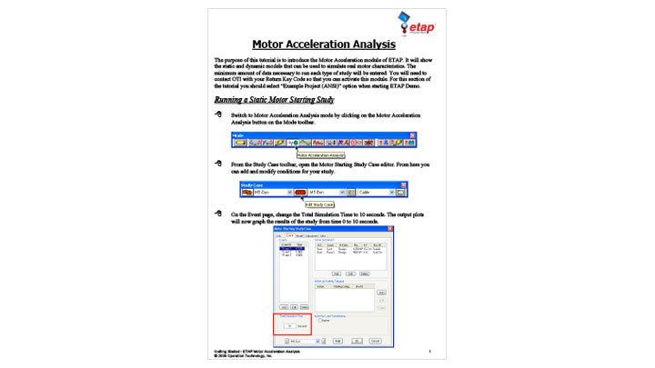 Motor Acceleration Analysis