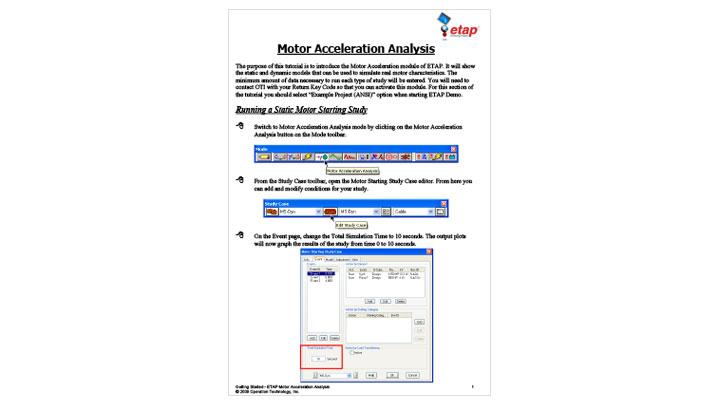 Motor Acceleration Analysis