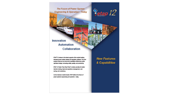 ETAP 12 New Features