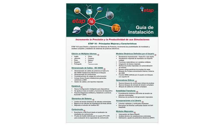 Guía de instalación de ETAP 16