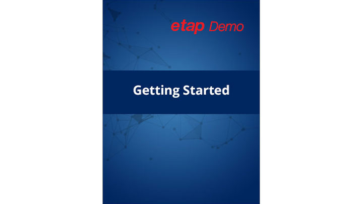 ETAP Demo Getting Started