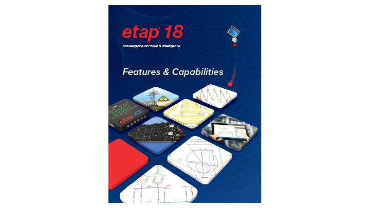 ETAP 18 New Features Brochure