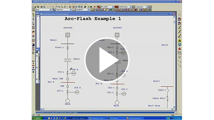 ETAP Arc Flash Overview Part 1-6