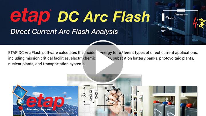 ETAP DC Arc Flash Session Part 1-3