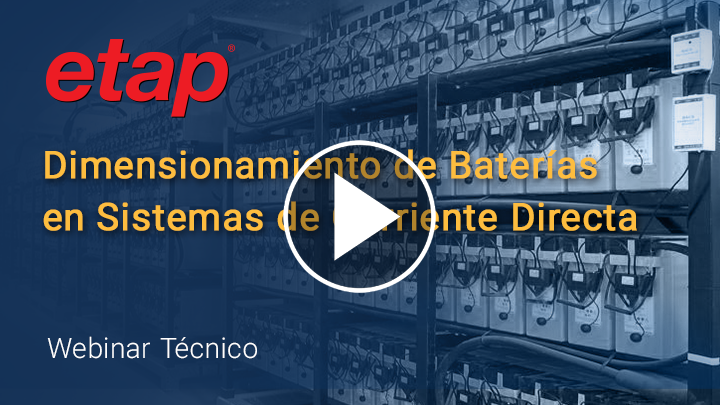 Dimensionamiento de Baterías en Sistemas de Corriente Directa