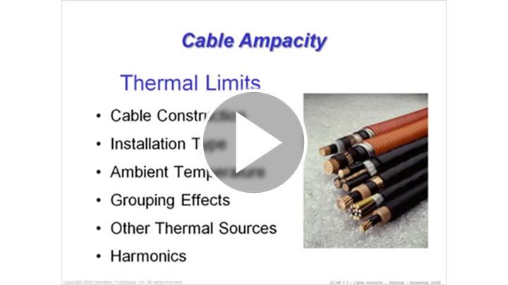 ETAP 7.1 - Cable Ampacity - Part 3